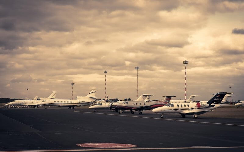 accounting news private jet